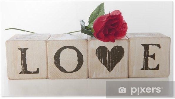 Plakat Miłość - Szczęście