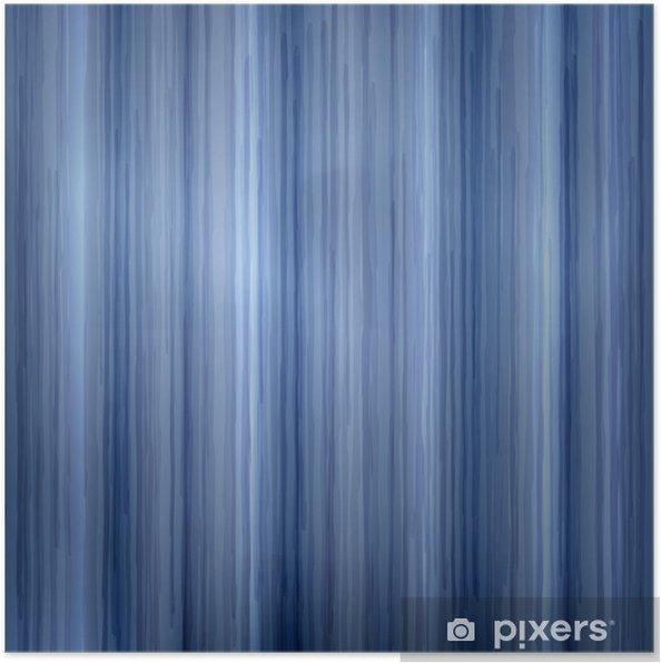 Plakát Modré čáry textury - Pozadí