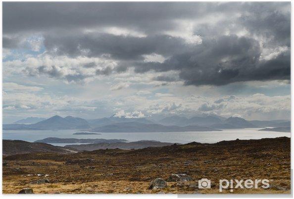 Plakát Modré hory na Isle of Skye - Prázdniny