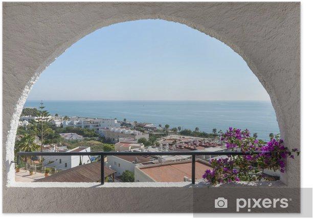 Plakat Mojacar Playa, Almeria, Hiszpania - Tematy