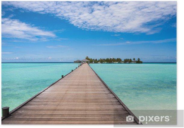 Plakát Molo na ostrově - Prázdniny