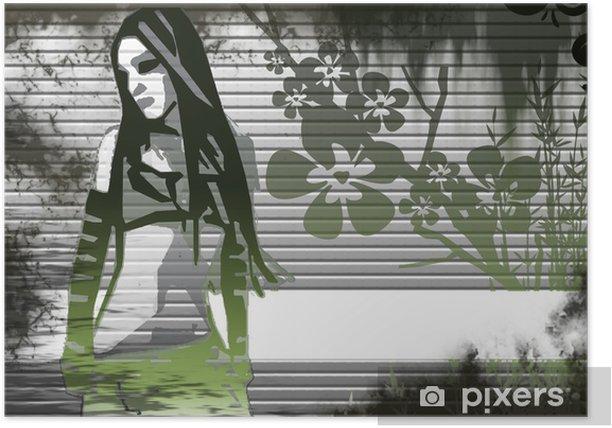 Plakat Moment 4 uroda - Tła