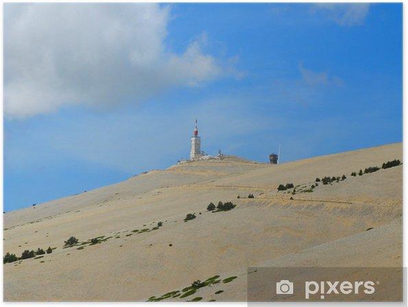 Plakat Mont Ventoux, Vaucluse - Europa