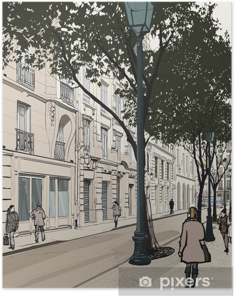 Plakat Montmartre w Paryżu - Tematy