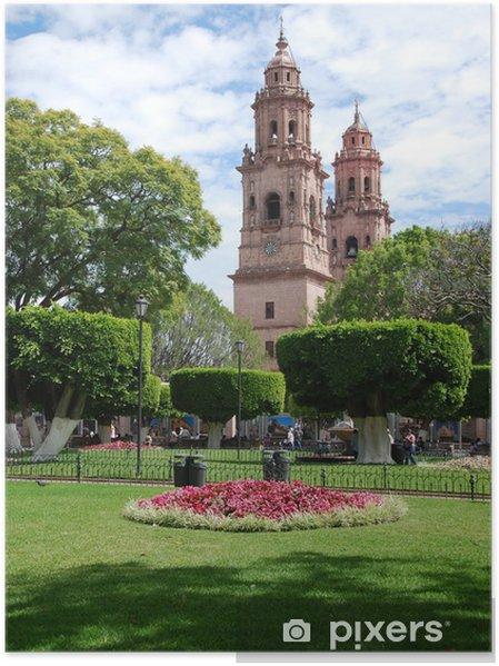 Plakat Morelia Cathedral - Ameryka
