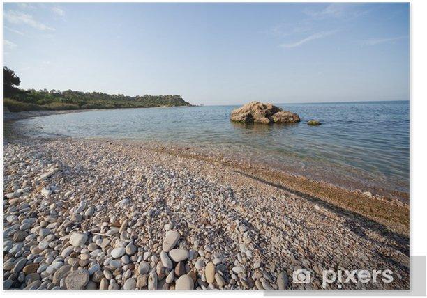 Plakat Morze Abruzja - Woda