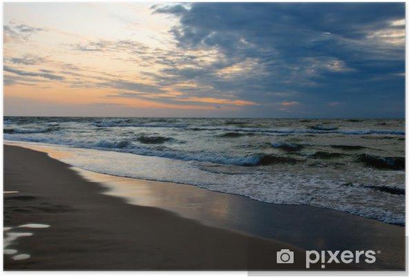 Plakat Morze - Woda