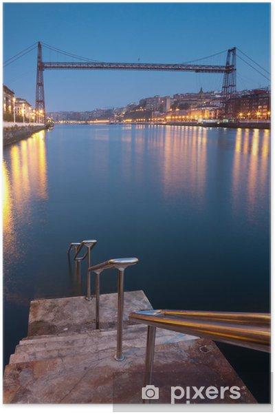 Plakat Most Bizkaia, Getzo, Vizcaya, Kraj Basków, Hiszpania - Tematy