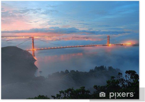 Plakat Most Golden Gate - Inne