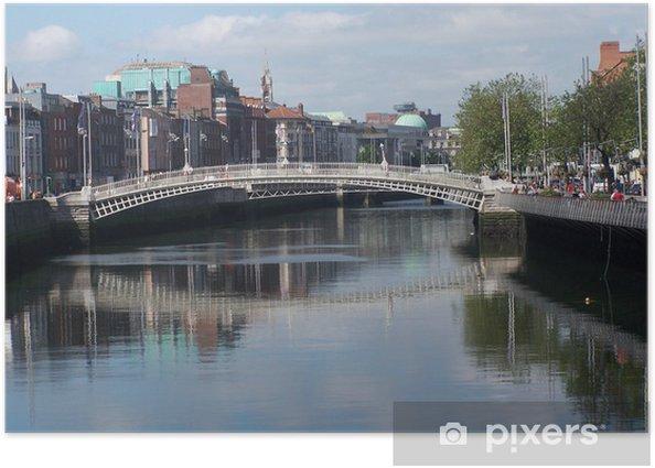 Plakat Most w Dublinie - Europa