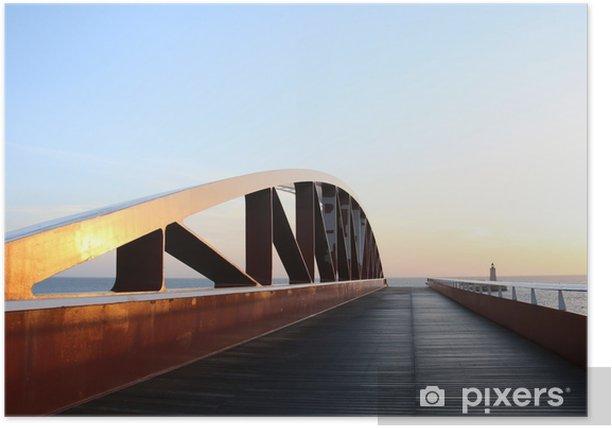 Plakat Most - Podróże
