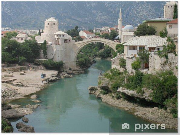 Plakat Mostar - Tematy