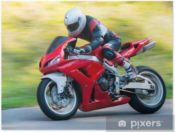 Plakat Motocykl wyścigowy - Tematy