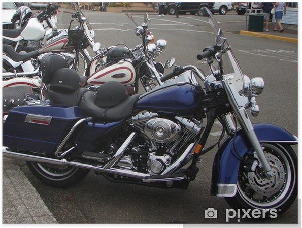 Plakát Motocykly - Na cestě