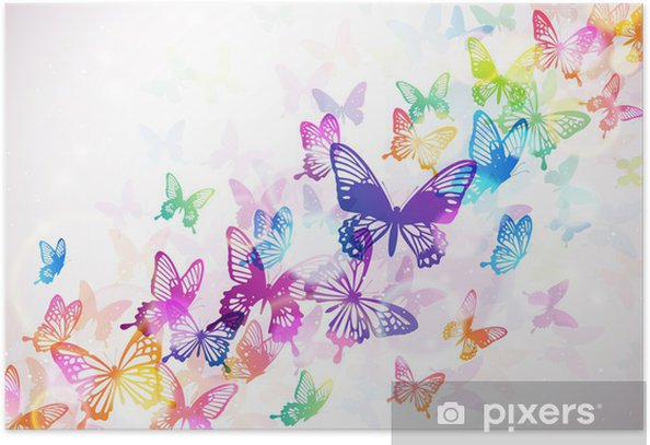 Plakat Motyl -