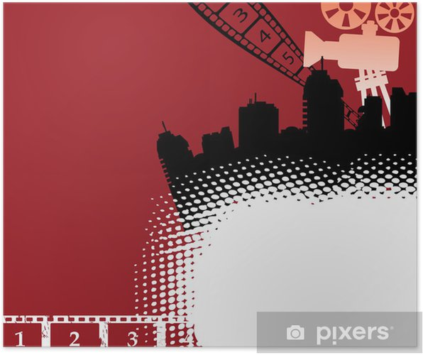 Plakat Motyw z filmu Cinema projektora i przezroczy - Rozrywka