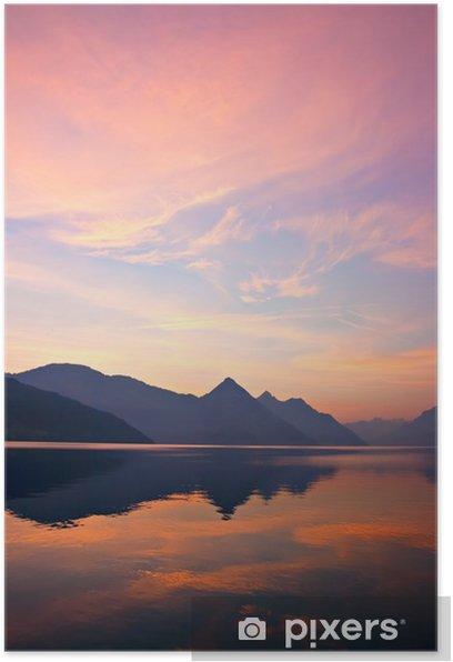 Plakat Mountain Sunrise - Europa