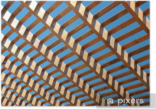 Plakát Mřížovina - Struktury