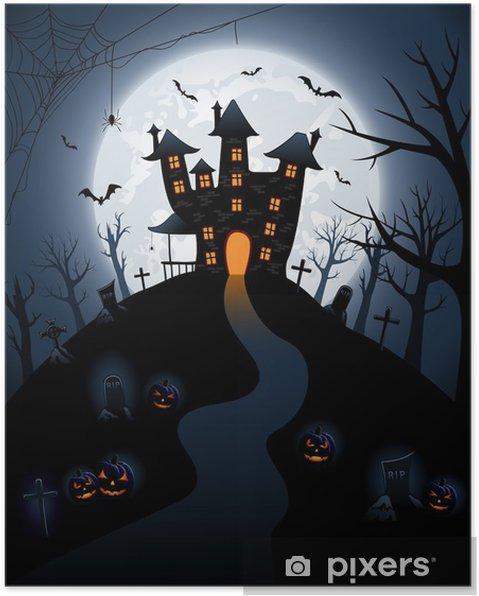 Plakat Mroczny zamek - Tematy