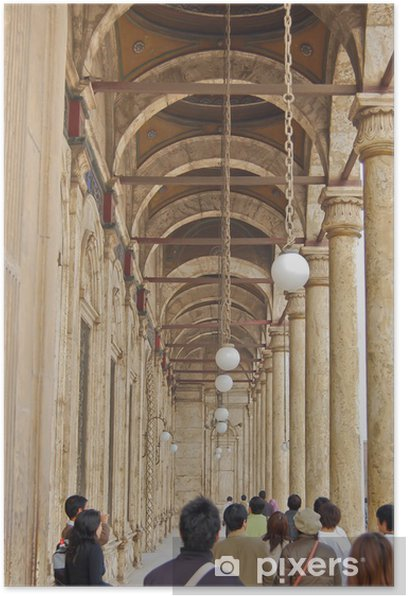 Plakat Muhamed Ali Mosque w Cytadela Saladyna, Egipt - Afryka