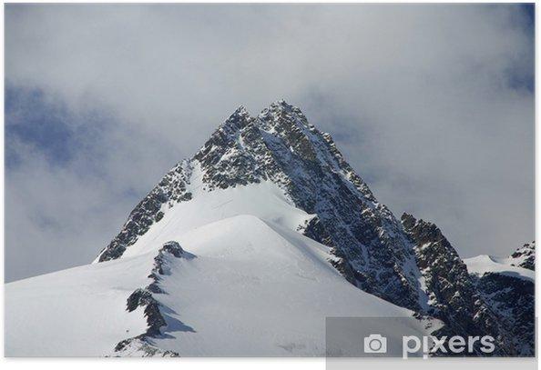Plakat Na Grossglockner - Góry