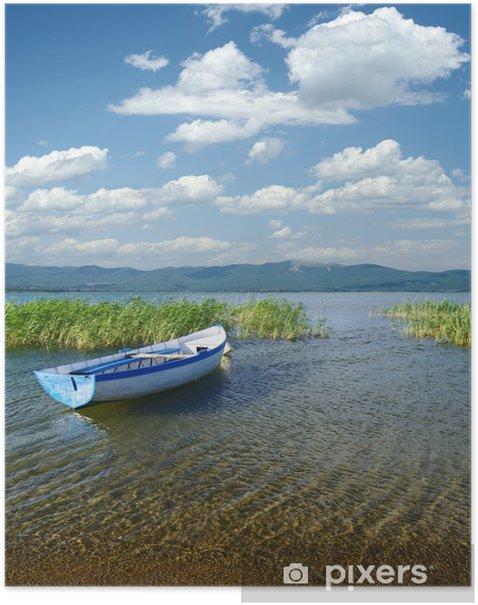 Plakat Na Jeziorze Prespa, Republika Macedonii - Europa