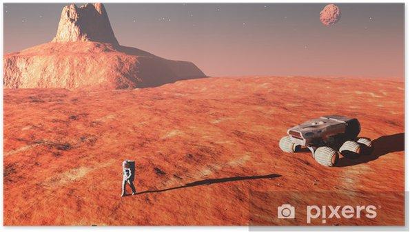 Plakat Na Marsie - Inne pejzaże