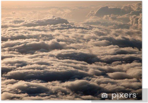 Plakát Nad mraky. Haleakala Volcano, Hawaii, Maui, USA - Ovoce