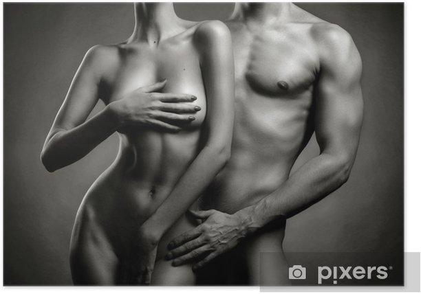 Plakat Nagie sensual para - Nagość