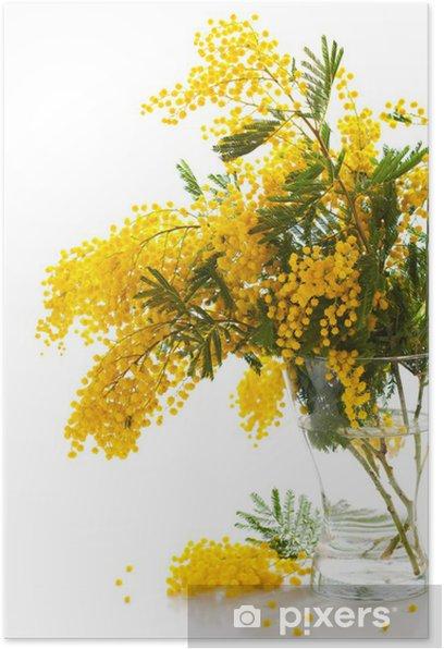 Plakát Nápoj ze šampaňského a džusu - Květiny