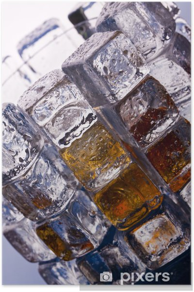 Plakat Napój zimny jak lód - Akcesoria