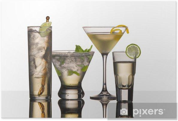 Plakat Napoje wódki - Alkohol