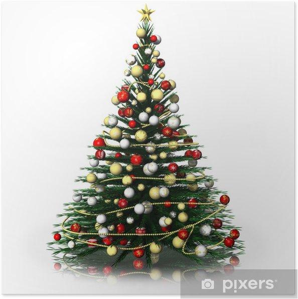 Plakat Natale_Albero z Natale_2014001 - Boże Narodzenie