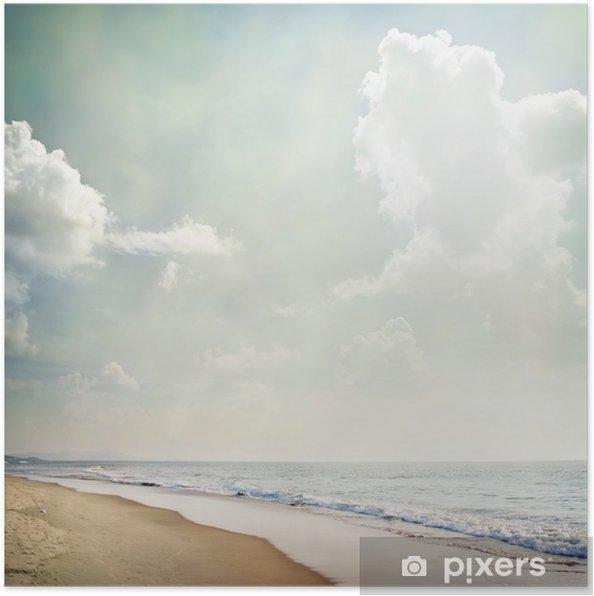 Plakat Natura-74 - Morze i ocean