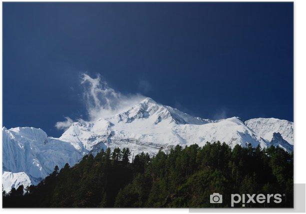 Plakat Nepal himalaya - Tematy