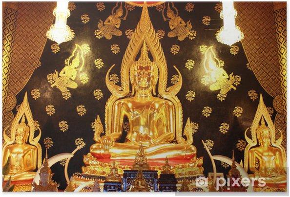 Plakát Neramit Vipassaná chrám, Thajsko Loei - Asie