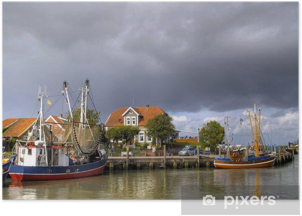 Plakat Neuharlingersiel port - Europa