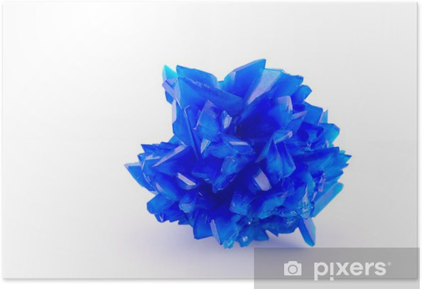 Plakat Niebieski WITRIOL - Moda