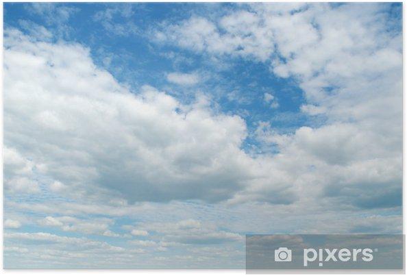 Plakat Niebieskie niebo - Niebo