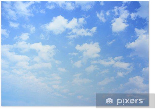 Plakat Niebo i chmury - iStaging