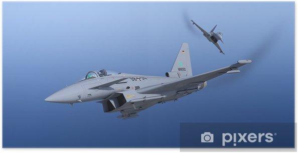 Plakat Niemieckie Samoloty Bojowe