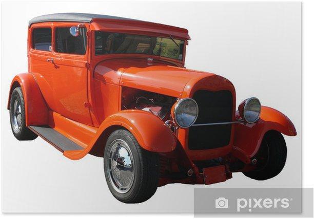 Plakat Niestandardowe samochód - Transport drogowy