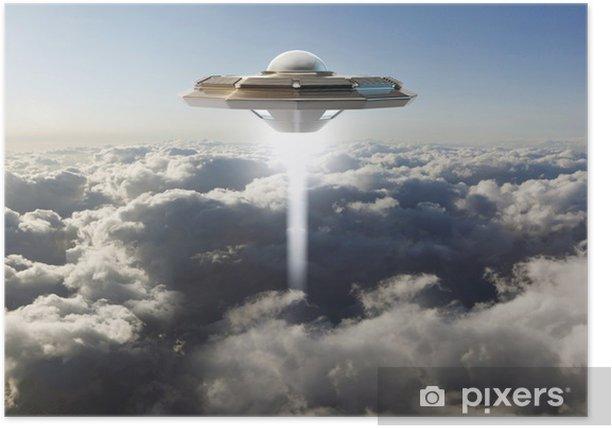 Plakat Niezidentyfikowany obiekt latający - Ezoteryka
