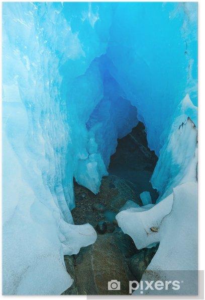 Plakat Nigardsbreen Glacier. Norwegia - Pory roku
