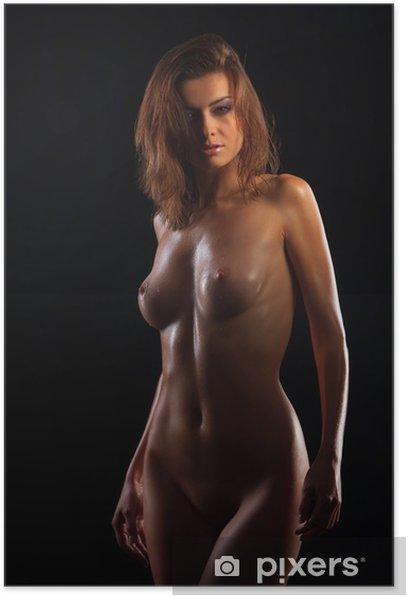 Plakat Niski klucz zdjęcie sexy ciało kobiety - Tematy