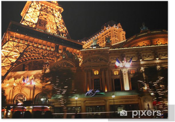 Plakat Noc w Las Vegas - Las Vegas