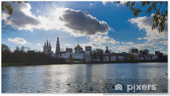 Plakat Novodevich klasztor, Moskwa - Miasta azjatyckie