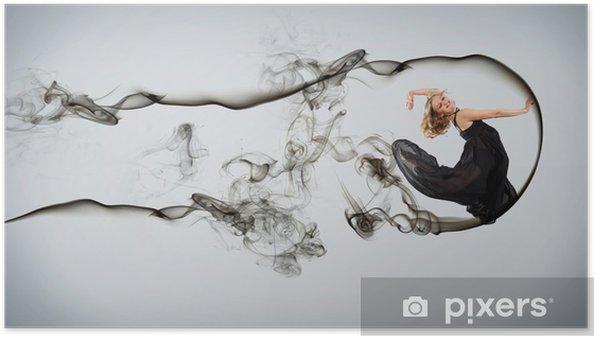 Plakat Nowoczesnym stylu tancerz posing - Tematy