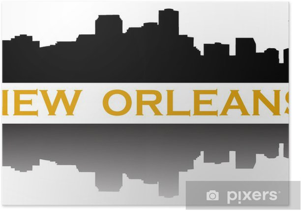 Plakat Nowy Orlean - Ameryka