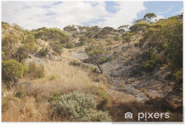 Plakat Nullarbor Plain, Australia Zachodnia - Oceania